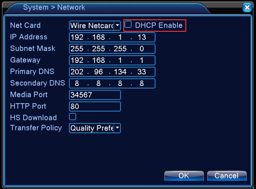 how to find dvr ip address